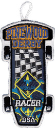 Webelos Racer Patch - Flag
