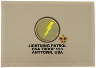 Custom Lightning Patrol Patch Flag (SP3214)