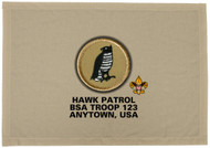 Custom Hawk Patrol Patch Flag(SP3114)