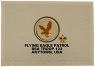 Custom Flying Eagle Patrol Patch Flag (SP3207)
