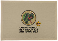 Custom Cobra Patrol Patch Flag (SP3203)