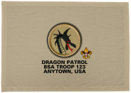 Custom Dragon Patrol Patch Flag (SP3204)