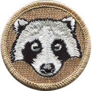 Official Licensed Raccoon Patrol Patch
