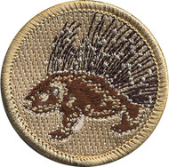 Porcupine Patrol Patch
