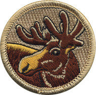 Official Licensed Moose Patrol Patch