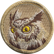 Official Licensed Horned Owl Patrol Patch