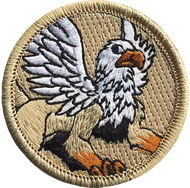 Official Licensed Griffin Patrol Patch