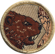 Official Licensed Beaver Patrol Patch