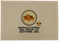 Custom Buffalo Patrol Patch Flag (SP3202)