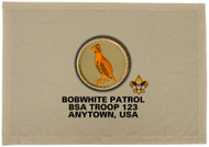 Custom Bobwhite Patrol Patch Flag (SP3201)