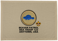 Custom Beaver Patrol Patch Flag (SP3199)