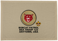 Custom Bobcat Patrol Patch Flag (SP3200)