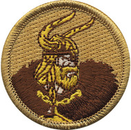 Official Licensed Premium Viking Patrol Patch