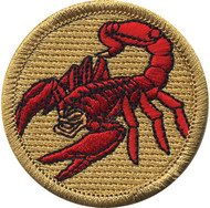 Official Licensed Premium Scorpion Patrol Patch