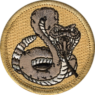 Official Licensed Premium Rattlesnake Patrol Patch