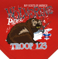 Custom Wolverine Patrol Neckerchief (SP2775)