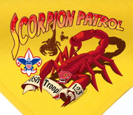 Custom Digitally Printed Scorpion Patrol Neckerchief (SP2797)
