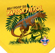 Custom Digitally Printed Raptor Patrol Neckerchief (SP2717)