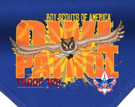 Custom Digitally Printed Owl Patrol Neckerchief (SP2881)