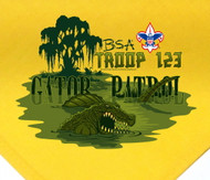 Custom Gator Patrol Neckerchief (SP2778)