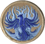 Official Licensed Blue Phoenix Patch