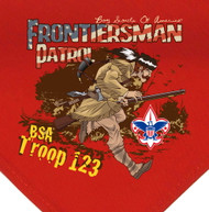 Custom Digitally Printed Frontiersman Patrol Neckerchief (SP2807)