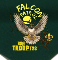 Custom Digitally Printed Falcon Patrol Neckerchief (SP2721)