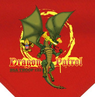 Custom Digitally Printed Dragon Patrol Neckerchief (SP2715)