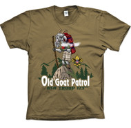 Custom Old Goat Patrol T-shirt (SP2716)