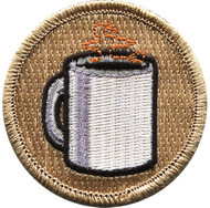 Official Licensed Coffee Cup Patrol Patch