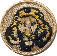 Official Licensed Lion Patrol Patch