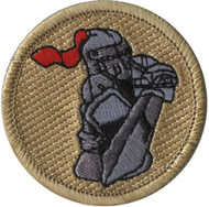 Official Licensed Knight with Sword Patrol Patch