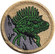 Iguana Patrol Patch