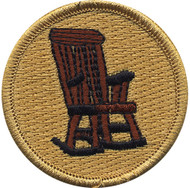 Official Licensed Rocking Chair Patrol Patch