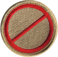 Official Licensed No Name Patrol Patch