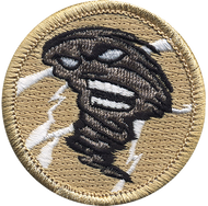 Official Licensed Cyclone Patrol Patch