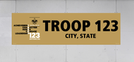 Custom Scouts BSA Troop Banner (SP3296/5505)