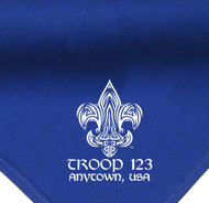 Custom Boy Scout Troop Neckerchief with Troop Tribal Tattoo (SP2104)