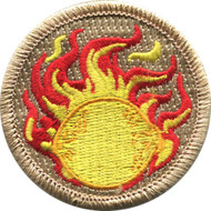 Flaming Lemon Patrol Patch