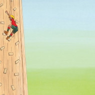 Climbing Tower Boy Scout 12x12 paper