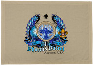 Custom Blue Phoenix Patrol Patch Flag with Colored Wings (SP5754)