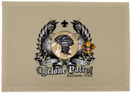 Custom Cyclone Patrol Patch Flag with Colored Wings (SP5773)