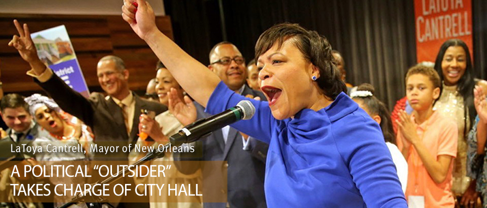 LaToya Cantrell, Mayor of New Orleans