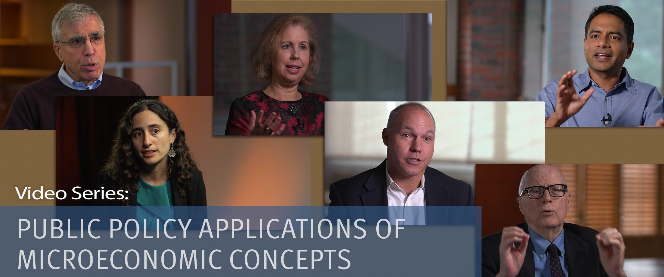 Video Series: Public Policy Applications of Microeconomic Concepts