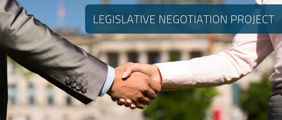 Legislative Negotiation Project