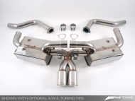 AWE Tuning Performance Muffler with Optional Tailpipe - Porsche 987