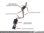 AWE Tuning Audi A5 B8.5 2.0T Touring Edition Exhaust System - Twin System