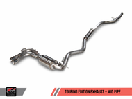 AWE Tuning BMW F3x 328i / 428i Touring Edition Exhaust - Twin Tailpipe