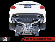 AWE Tuning Mercedes-Benz W205 AMG C63 / C63S Track Edition Exhaust