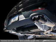 AWE Tuning Porsche Panamera 2/4 Touring Edition Exhaust - Chrome Silver Tailpipes